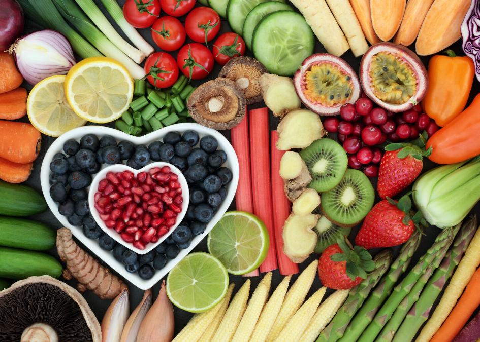ประโยชน์ของผักผลไม้ 5 สี