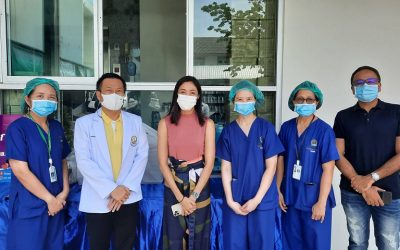 24 พฤษภาคม 2564  ขอขอบพระคุณ ครูเงาะ รสสุคนธ์  กองเกตุ บริจาคอาหารกล่อง 100 ชุด ให้กับโรงพยาบาลบางกรวยเพื่อเป็นกำลังใจในการทำงานของแพทย์พยาบาลและเจ้าหน้าที่  โรงพยาบาลบางกรวยขอขอบพระคุณเป็นอย่างสูงมา ณ.ที่นี้ด้วยค่ะ